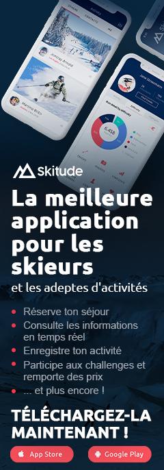 La meilleure application pour les skieurs